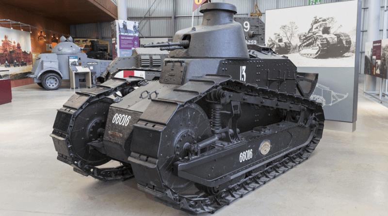 Renault FT-17 Hafif Tank