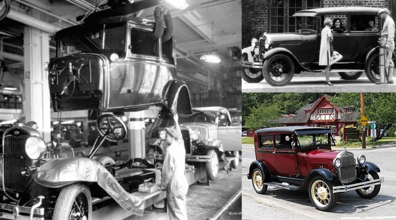 Ford tarafından piyasaya sürülen ilk otomobil Model A